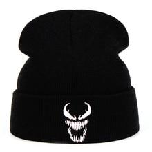Eminem Venom Knit Hat Winter Hats Casual Beanie For Men Women Fashion Knitted Wi