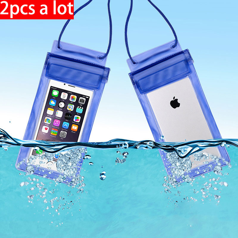 vanzlife Outdoor travel swimming diving case phone waterproof bag transparent common set of underwater diving waterproof bag