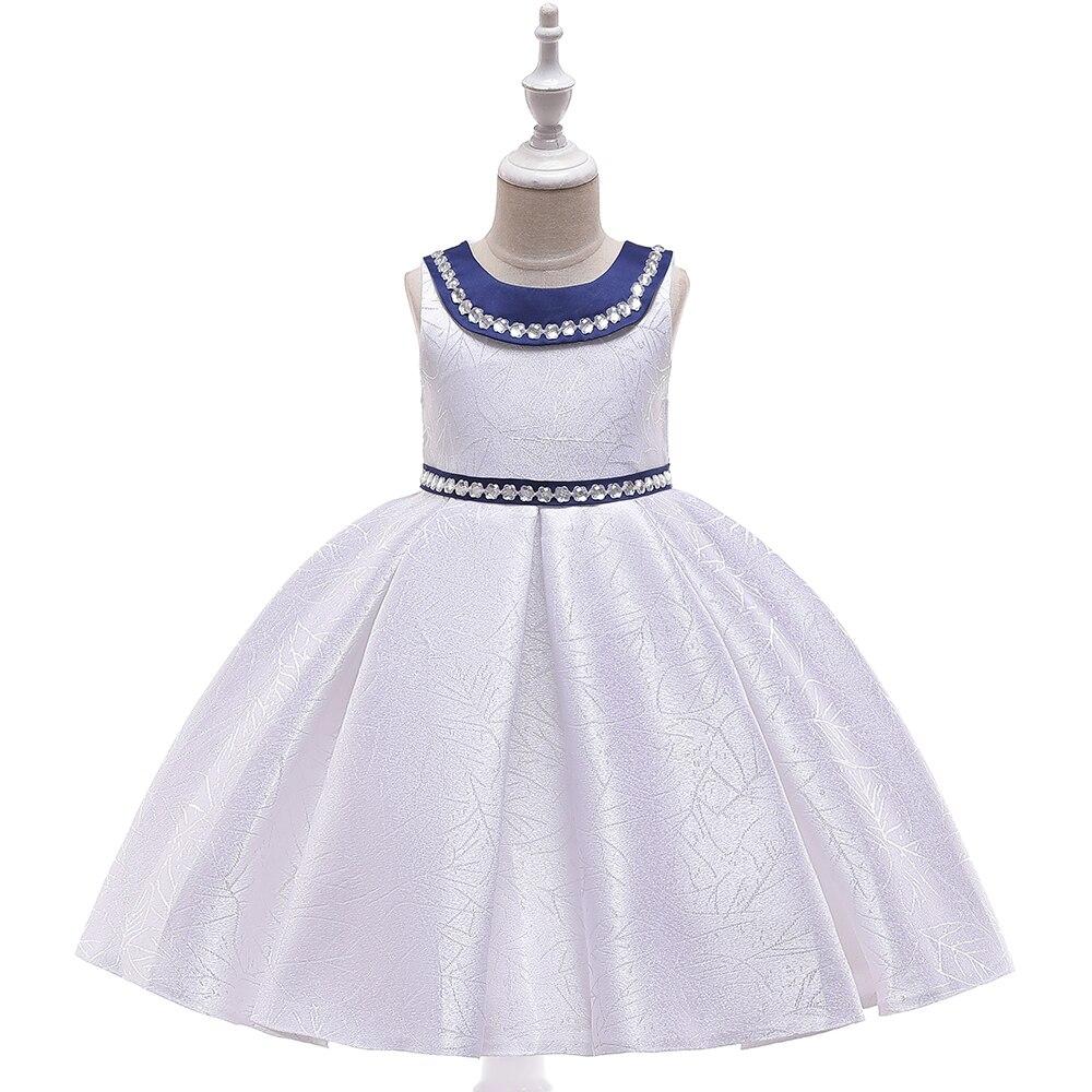 Fille dentelle robes mode princesse robe enfants vêtements elbise robe fille premier anniversaire fille fête junker saia raiponce falda