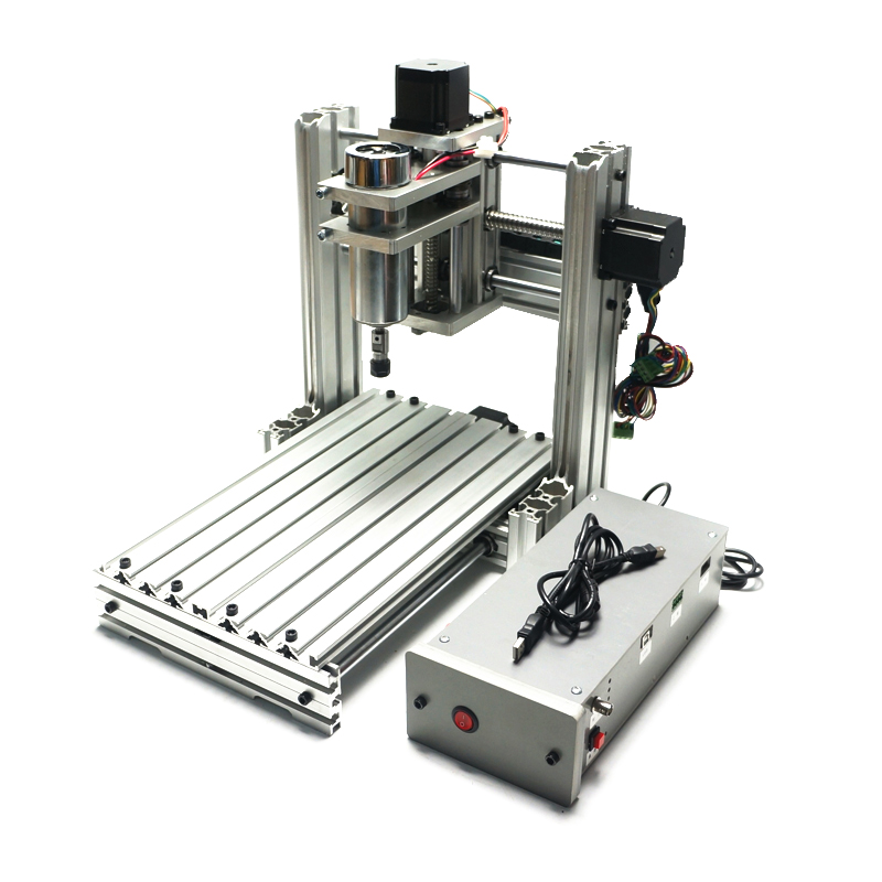 EUR free tax cnc lathe machine DIY 2520 4axis  cnc router metal wood carving machine for woodworking
