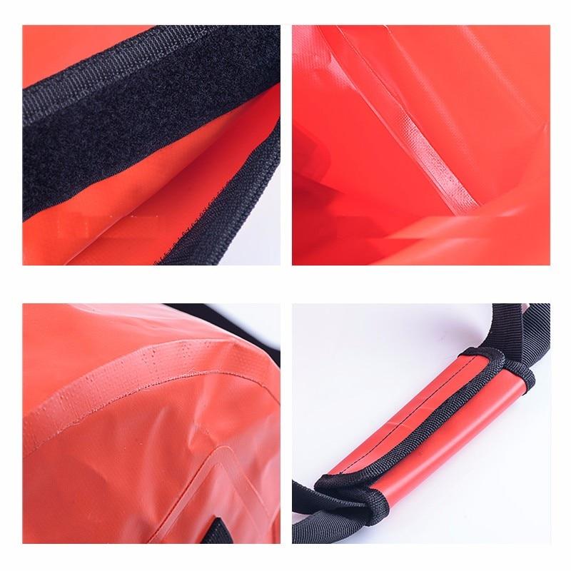 40L/60L/90L/120L grande capacité en plein air imperméable à l'eau sacs de natation léger plongée flottant sac sec Camping randonnée sac à dos - 6
