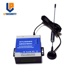 3G RTU5025 Mobile control door lock GSM SMS Access Control System Remote Open the gate/door/garage by Free call