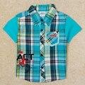 Мальчики одежда мальчики футболки модные детской одежды бобо choese отпечатано мультфильм короткий рукав рубашки nova дети одежда C5082