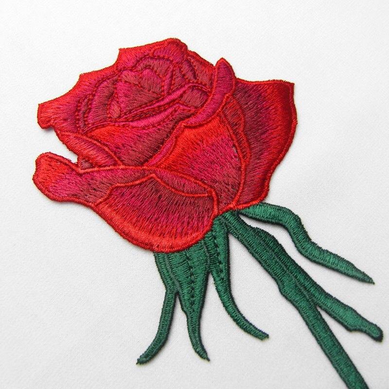 Nakış Gül Çiçek Yamalar üzerinde ücretsiz Nakliye Dikiş - Sanat, el sanatları ve dikiş - Fotoğraf 3