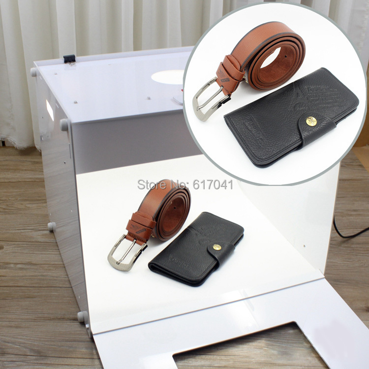 D40 Easyshooting 400*330*320 mm high LUX LED Professional Portable Kit Photo Photography Studio led photto Light Box Softbox