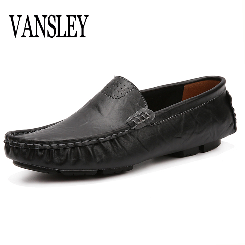 Big Zize 37-48 Breathable Italian Designers Men Genuine Leather Driver Shoes Luxury Brand Oxford Men's Flats Boat Shoes Sapatos men shoes wedding dress italian style men oxford genuine leather lace up black flats shoes luxury brand shoes sapatos homens