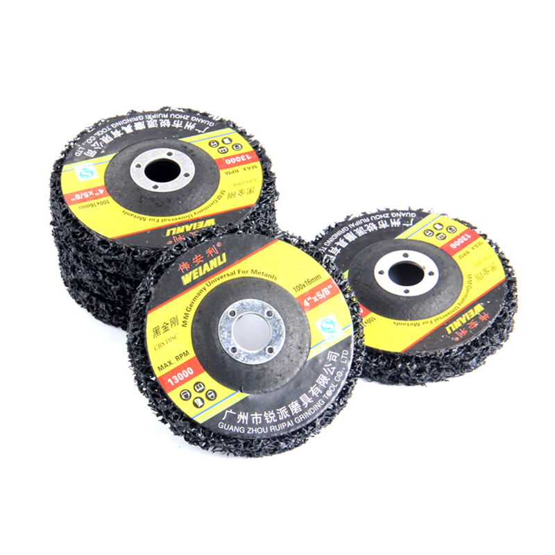 100*16mm Metal Polishing Wheels Grinding Disc For Clean Paint Metal Rust Remover Dremel Accessories Angle Grinder Tools
