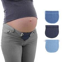 Для беременных женщин удлинитель ремня эластичный беременность беременных женщин регулируемые джинсы пояс брюки Мягкая талия регулируемый