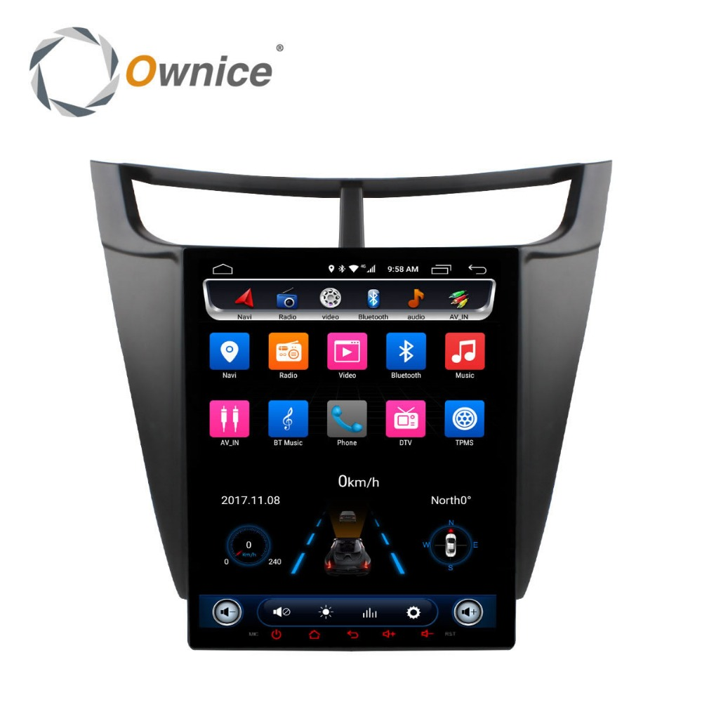 Android Car Radio DVD Player for Chevrolet sail 2015 2016 Auto Audio Stereo Multimedia GPS navigation Car Play Head Unit DVR OBD