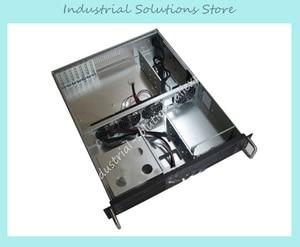 New 2U Server Computer Case PC Power Supply Large-Panel 2 Optical Drive Bit 4 Hard Drive 2U Industrial Computer Case