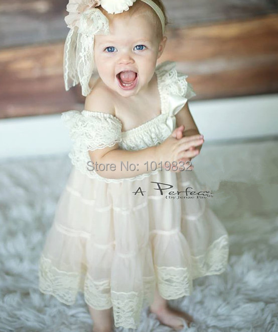 infant wedding dresses deluxe baby lace dress flower dresses for 5145