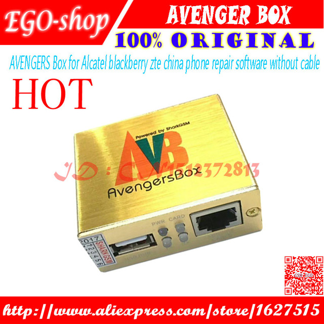 US $83 8 |gsmjustoncct 2018 AVENGERS BOX / AVB BOX for Alcatel/ BlackBerry/  Samsung/Huawei/ ZTE/-in Telecom Parts from Cellphones & Telecommunications