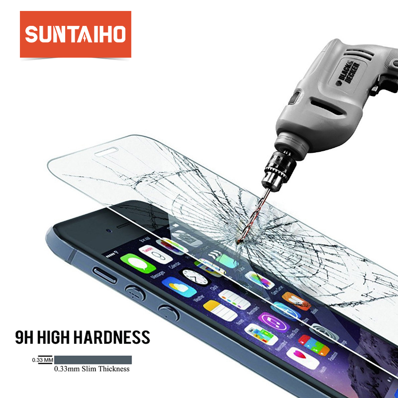 Suntaiho high qualit tempered glass for iphone XS Max XR screen protector protective glass film for iphone 6 7 5s SE 6s 8 plus 4