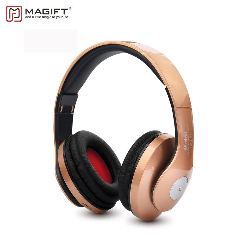 MagiftK57 Drahtlose Bluetooth Kopfhörer Unterstützung FM Radio Tf-karte 3,5mm Audio kabel Wired Headset CVC6.0 für Xiaomi
