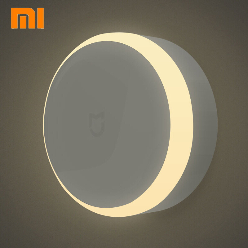 Original Xiaomi Mijia LED induction light Photosensitive Sensor Lamp with human body Motion 5-7 M sensor For xiaomi smart home