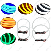 5-Color Car Angel Eye Light Halo Ring Cotton Light Error Free LED SMD For BMW E46 NON Projector 5-Color #J-1465