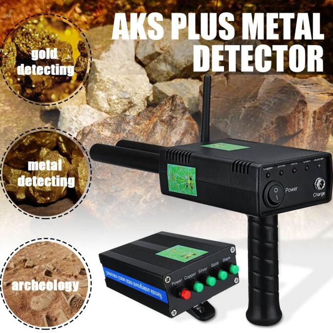 2019 New AKS 3D Metal Detector Upgrade AKS PLUS FINDER Metal Detector Depth  of Depth 20 Meters