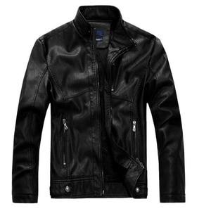 Image 4 - ZOEQO NEW top quality Leather Jacket Men jaqueta de couro masculina mens leather jacket and Coat Motorcycle Jacket