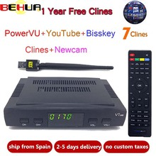 [Genuine] V7S HD Satellite Receiver Full 1080P with USB WiFi
