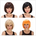 Fashion Short Heat Resistant Cosplay Short Straight Anime Cosplay Lace Front Wig