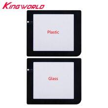 Hohe qualität Schutzhülle Lampe Loch Kunststoff Glas Bildschirm Objektiv für G-ame Junge für G-ameBoy Tasche für g-BP