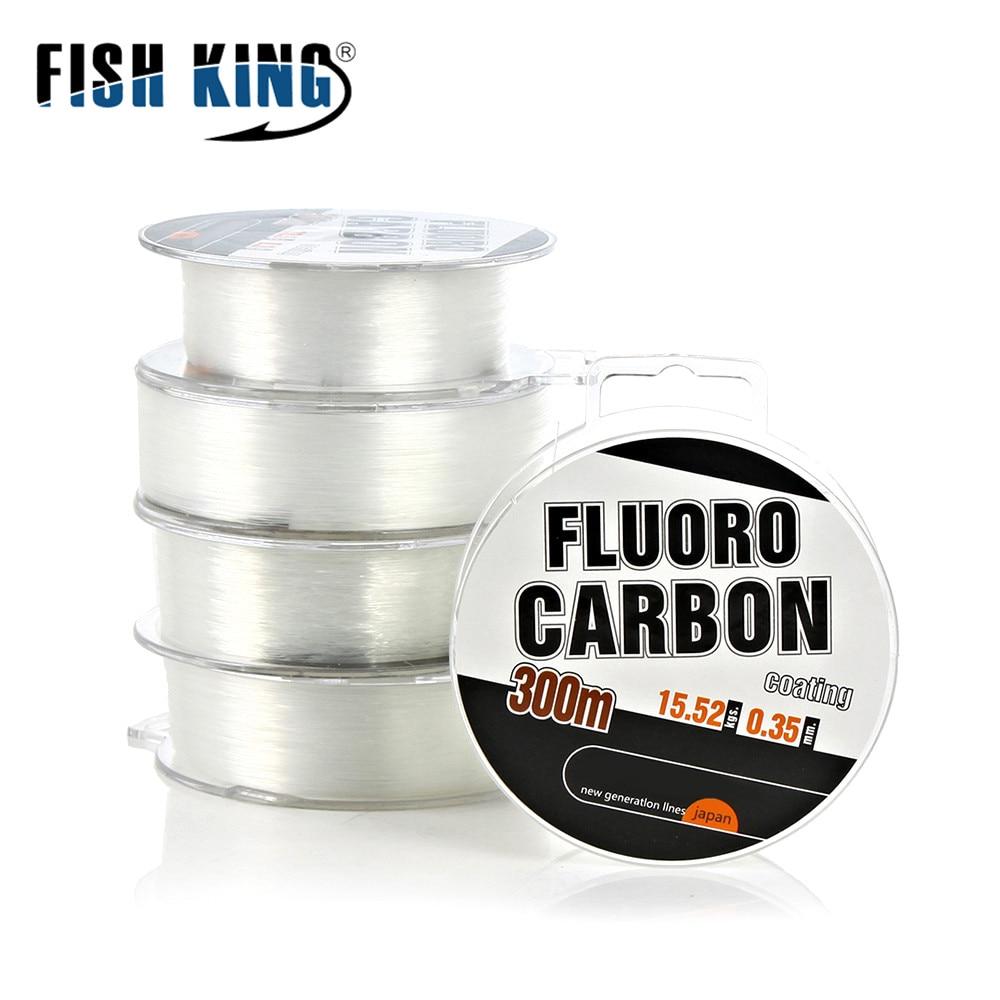 300 mt Fluor Angelschnur Starke Draht Schock Führer Japan Carbon Faser Beschichtung Fly Angeln String Schnur 30-45LB/13,5 -20,3 kg