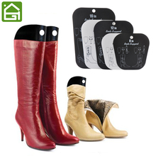 1 Pair Black Boot Stand Holder Women Knee High Boot Inserts Plastic  Supporter Storage Closet Shoe Organizer Rack