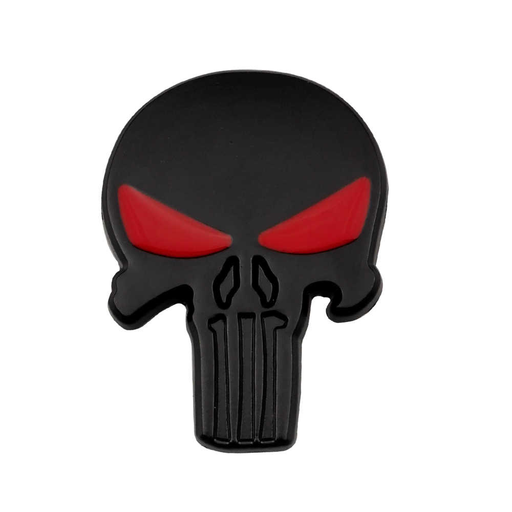 Detail Feedback Questions About Car Stickers Punisher Logo 3d Metal