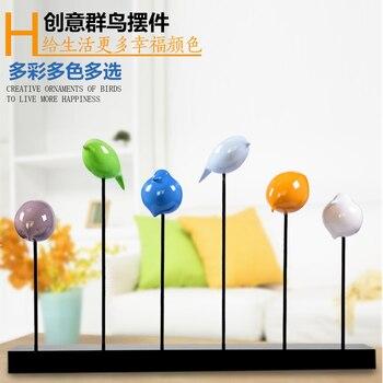 Art  decoration decoration Home Furnishing wine  Deco bird minimalist TV cabinet furnishings Home Furnishing accessories