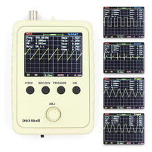 Digital Oscilloscope DIY Kit with Case Fully Soldered Electronic Learning Set 1MSa/s 0-200KHz 2.4
