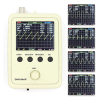 Digital Oscilloscope DIY Kit With Case Fully Soldered Electronic Learning Set 1MSa S 0 200KHz 2