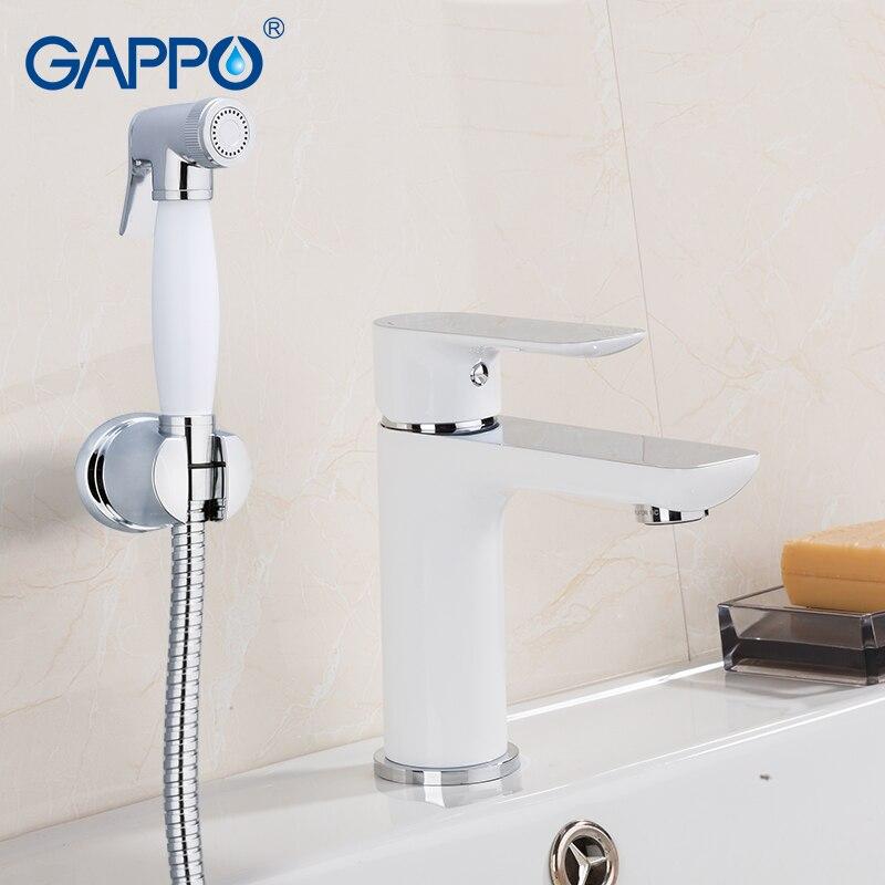 GAPPO bidet robinet Salle De Bains robinets de douche bidet toilettes pulvérisateur mélangeur musulman eau du robinet en laiton Chromé robinets bassin robinet torneira