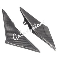 Carbon Fiber Tank Side Covers Panel Fairing for Honda CBR600RR 2003 2004 F5 03 04 Motorcycle Side Lining Part