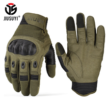 TouchScreen wojskowe rękawice taktyczne Armia paintball strzelanie airsoft Combat Anti-Skid twarde Knuckle pełny palec rękawice mężczyźni kobiety tanie tanio Gloves Mittens Nylon Mikrofibra bawełna JIUSUYI Unisex Nadgarstka Stałe Nowość Dorosłych Taktyczne pełne rękawice palców