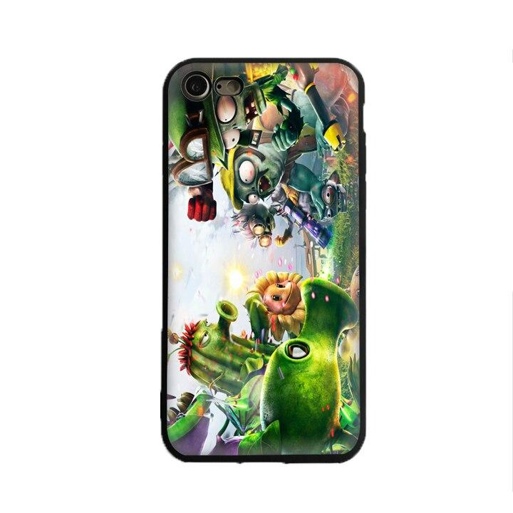 SKEROS Plants vs. Zombies 5 TPU Phone Case Soft Cover For X 5 5S Se 6 6S 7 8 6 Plus 6S Plus 7 Plus 8 Plus #oa302