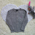 New Baby Girl's Autumn Spring Sweater Children Single Breasted Solid Cotton Long Sleeve Kintted Cardigan Coat Jacket RL