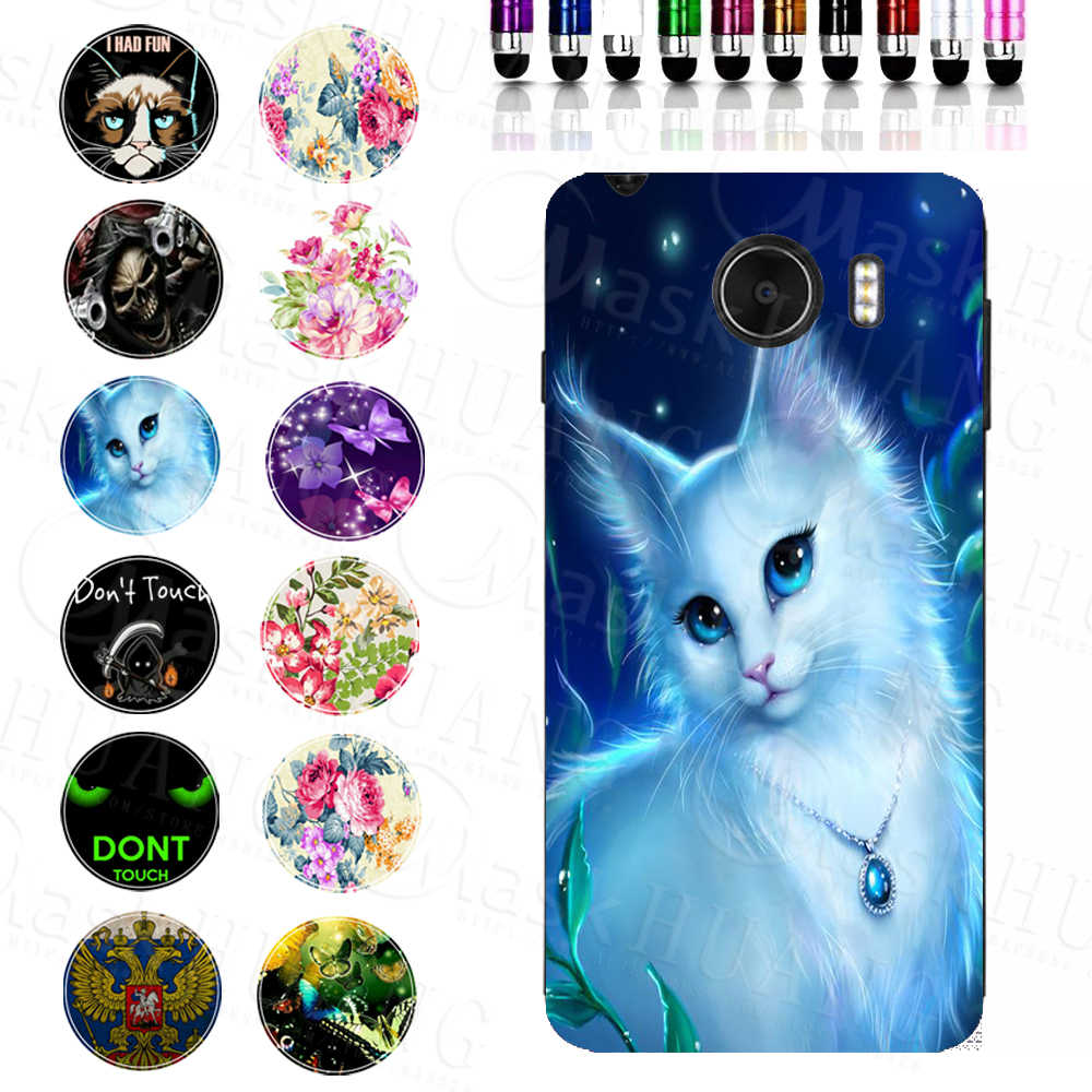 Charming Pretty Beautiful Cats Print Case For Prestigio Grace Z5 PSP5530DUO TPU Cover Shell Bag Housing