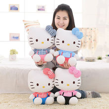High-quality hello kitty plush toys Stuffed dolls for girls kids toys gift 28cm free shipping
