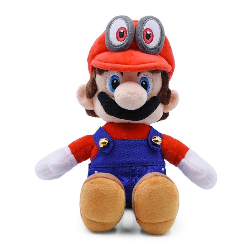 21CM Sitting Super Mario Odyssey Peluche Plush Toy Dolls For Children Gifts