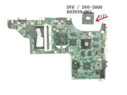 BiNFUL STOCK  nowa przedmiot  603939 001 DA0LX8MB6D1 dla HP PAVILION DV6 DV6 3000 LAPTOP płyta główna  HD 5650 1GB + bezpłatny procesor w Płyty główne od Komputer i biuro na