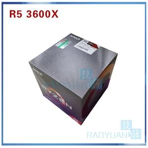 Image 2 - AMD Ryzen 5 3600X R5 3600X 3.8 GHz Six Core Twelve Thread 7NM 95W L3=32M 100 000000022 CPU Processor  Socket AM4 with cooler fan