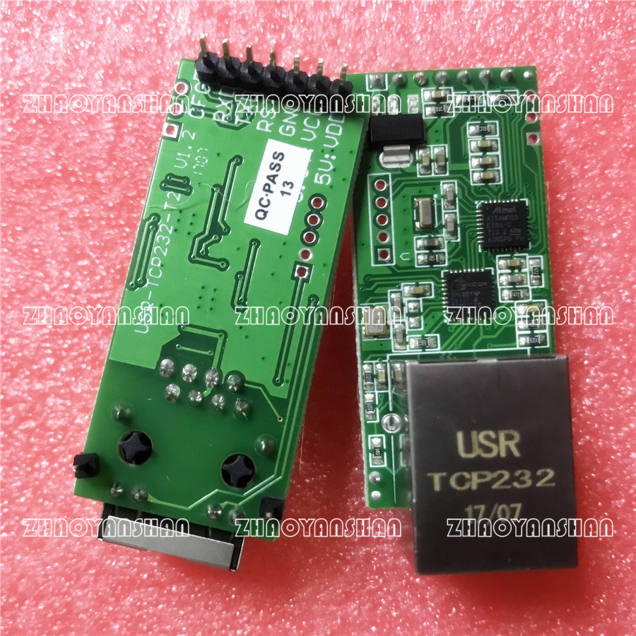 USR-TCP232-T2 TCP/IP to TTL for PLC/MCU UART to Ethernet Lan 1pcs usr gprs232 7s3 direct factory serial uart ttl to gprs gsm module tcp and udp supported