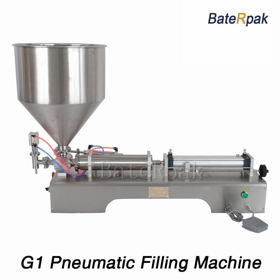G1 rozsdamentes acél vízszintes pneumatikus paszta automatikus - Elektromos kéziszerszámok - Fénykép 1
