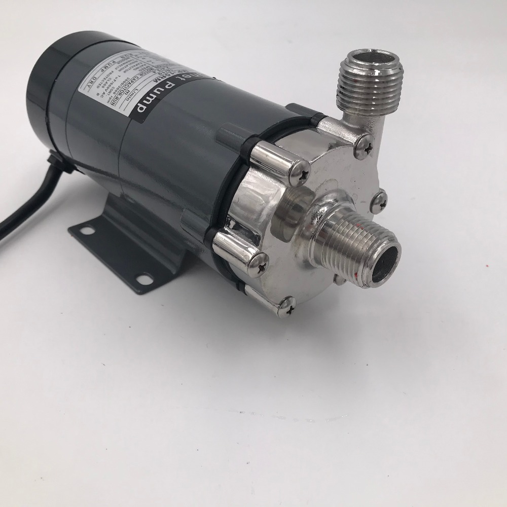 Magnetic Drive Pump 15R With Stainless Steel Head,Beer Brewing 220V European Plug with 1/2 NPT thread New Bar Accessory Magnetic Drive Pump 15R With Stainless Steel Head,Beer Brewing 220V European Plug with 1/2 NPT thread New Bar Accessory