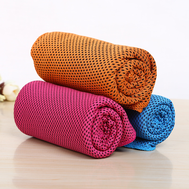 Купить с кэшбэком Hot Sale Cool Towel New Ice Cold Enduring Running Jogging Gym Instant Cooling Outdoor Sports Towel