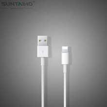 White Wire Date Sync Charging Charger Cable for iPhone 5 5s 6 6 plus For iPad for ios 8 9