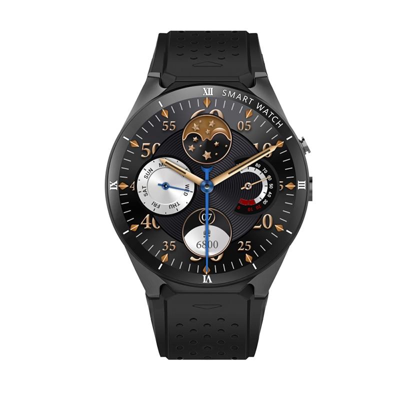 Goldenspike kw88 pro reloj inteligente hombre iwo 12 relógio inteligente para huawei relógio 2 samsung s4 relógio inteligente para ios relógio inteligente - 4