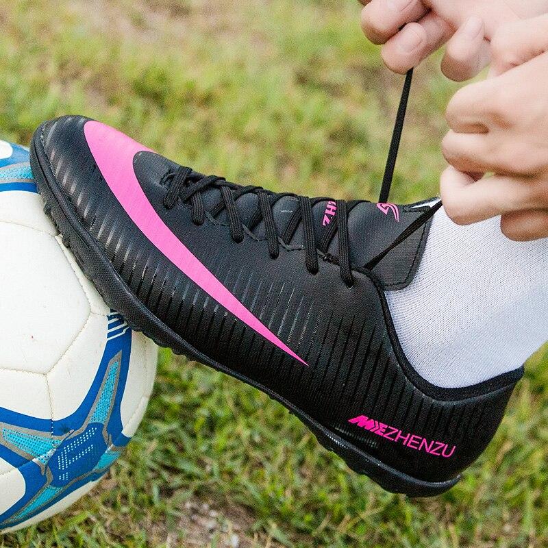 Sapatos de Futebol indoor soccer shoes chuteiras crianças Nível de Prática    Profissional 02b2eb4db30a8