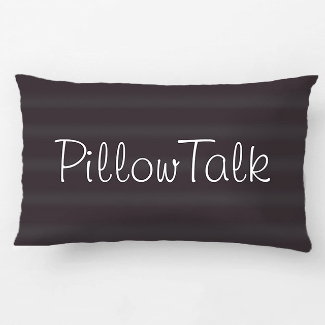 Pillow Talk Throw Cushion Wedding Decorative Cushion Cover Pillow Case  Customize Gift By Lvsure For Car Great Ideas