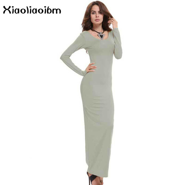 b82afc072d Maxi Dress Women Sexy White Maxi Dresses Long Full Green Street Fashion  Package Buttocks Best Sellers